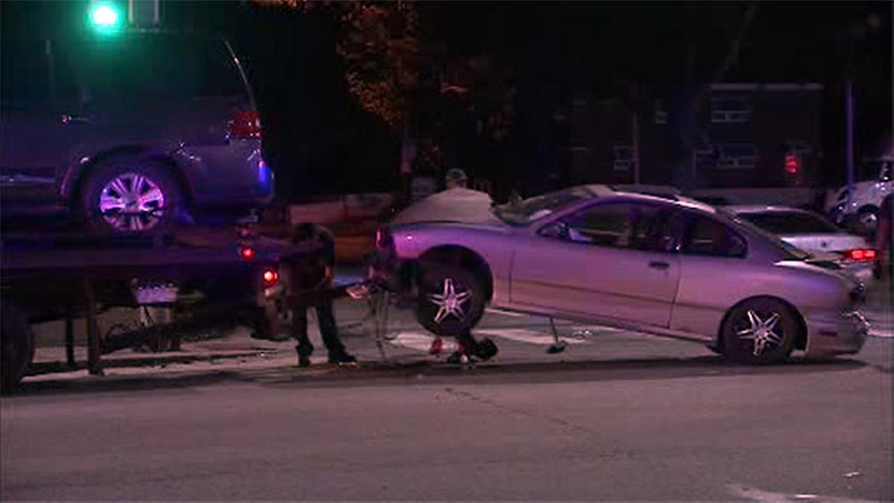 Drivers hurt in crash on Roosevelt Boulevard in Northeast Philadelphia