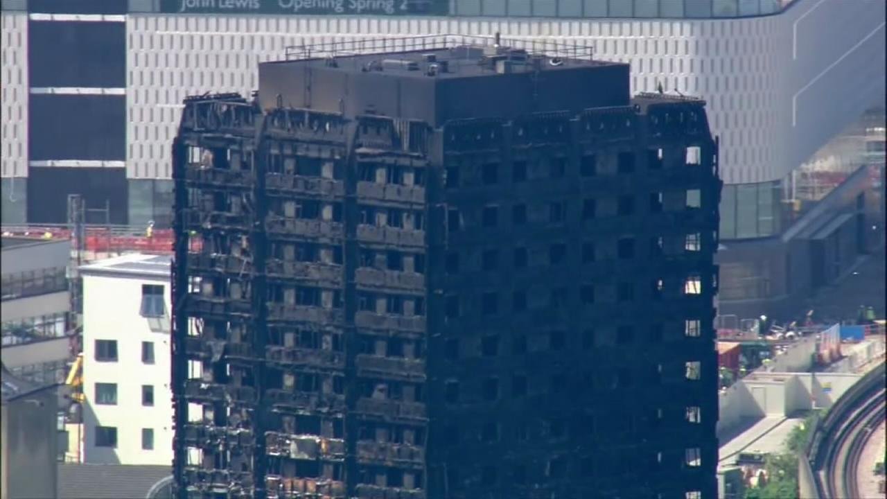 Search for more victims in London fire