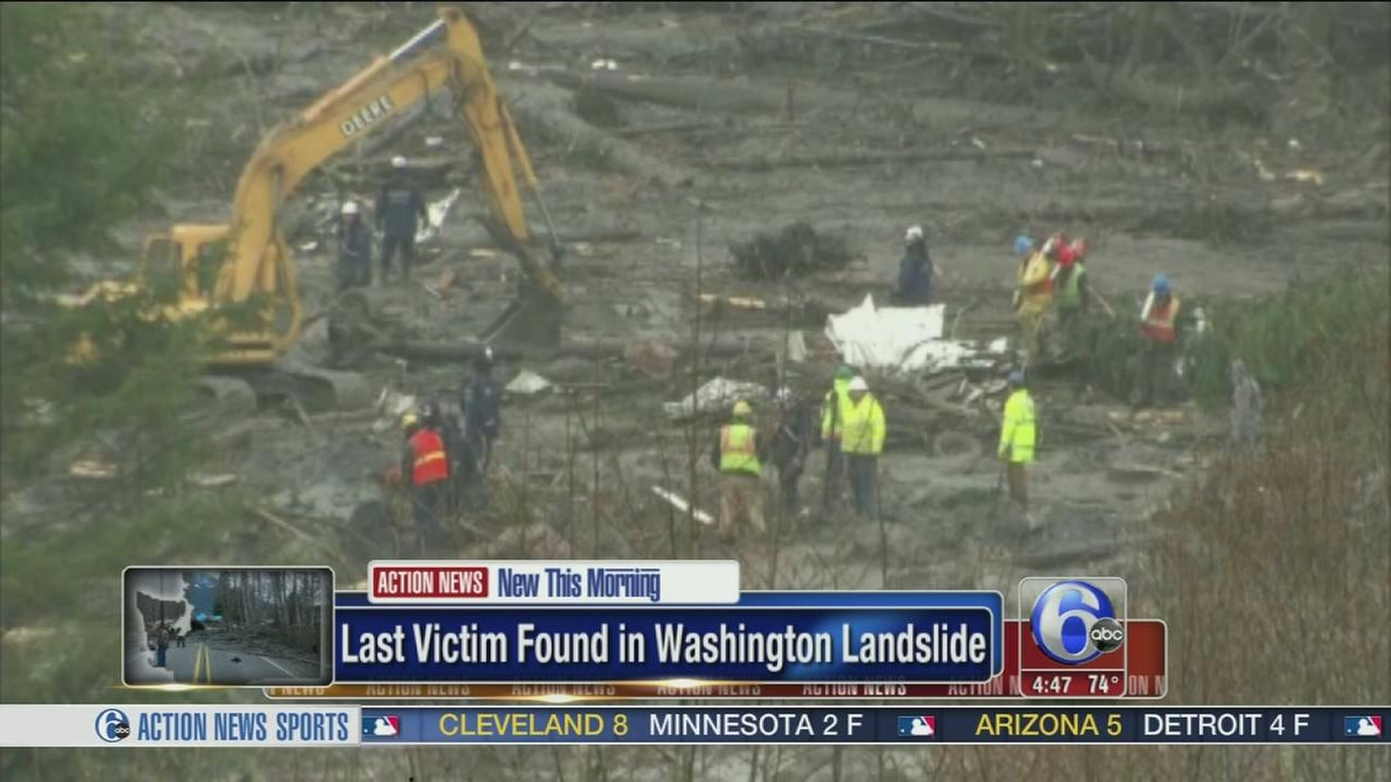VIDEO: Last victim found in Washington landslide