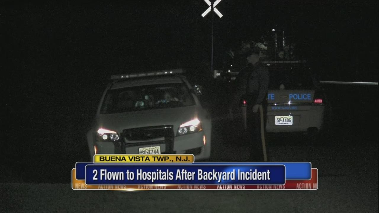 2 hurt in Buena Vista Twp., NJ