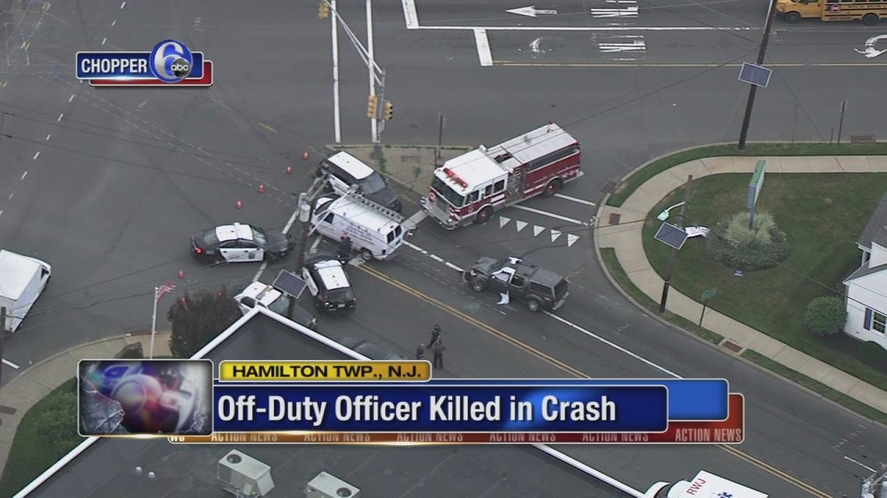 Off-duty officer killed in crash