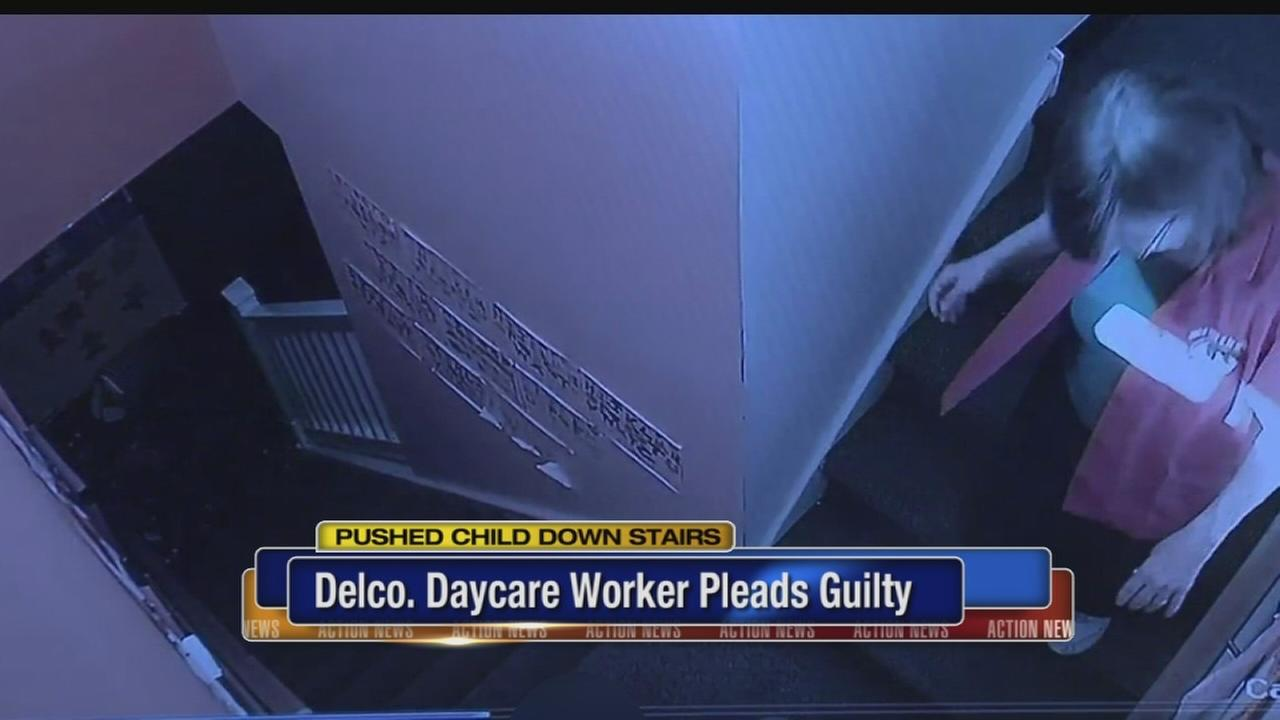 VIDEO: Delco. daycare worker pleads guilty