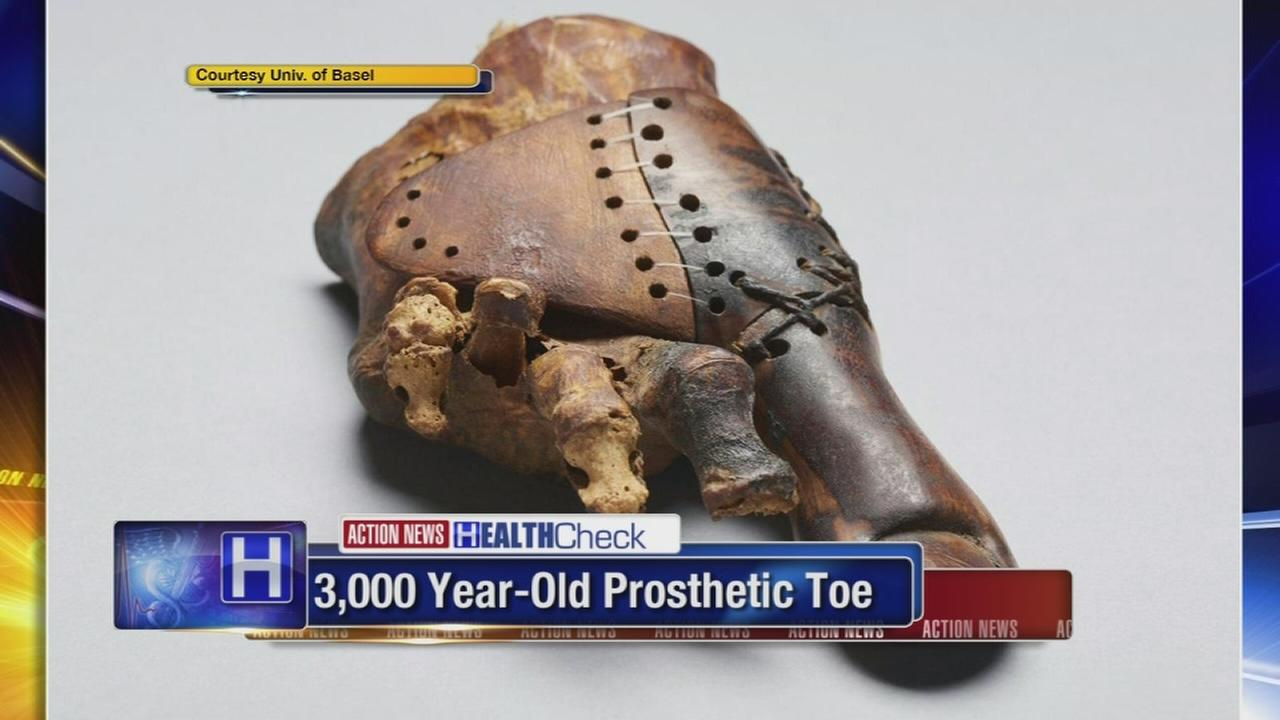 3,000-year-old prosthetic toe discovered in Egyptian tomb