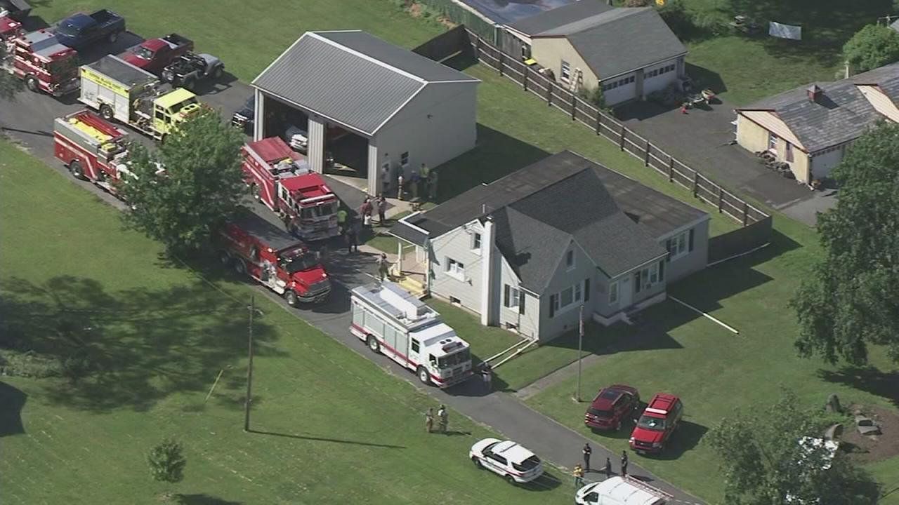 Explosives found at Bucks Co. home