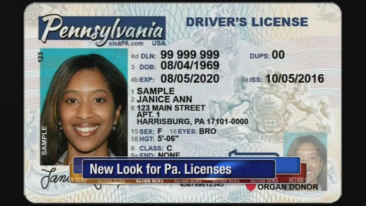 New look for Pa. licenses