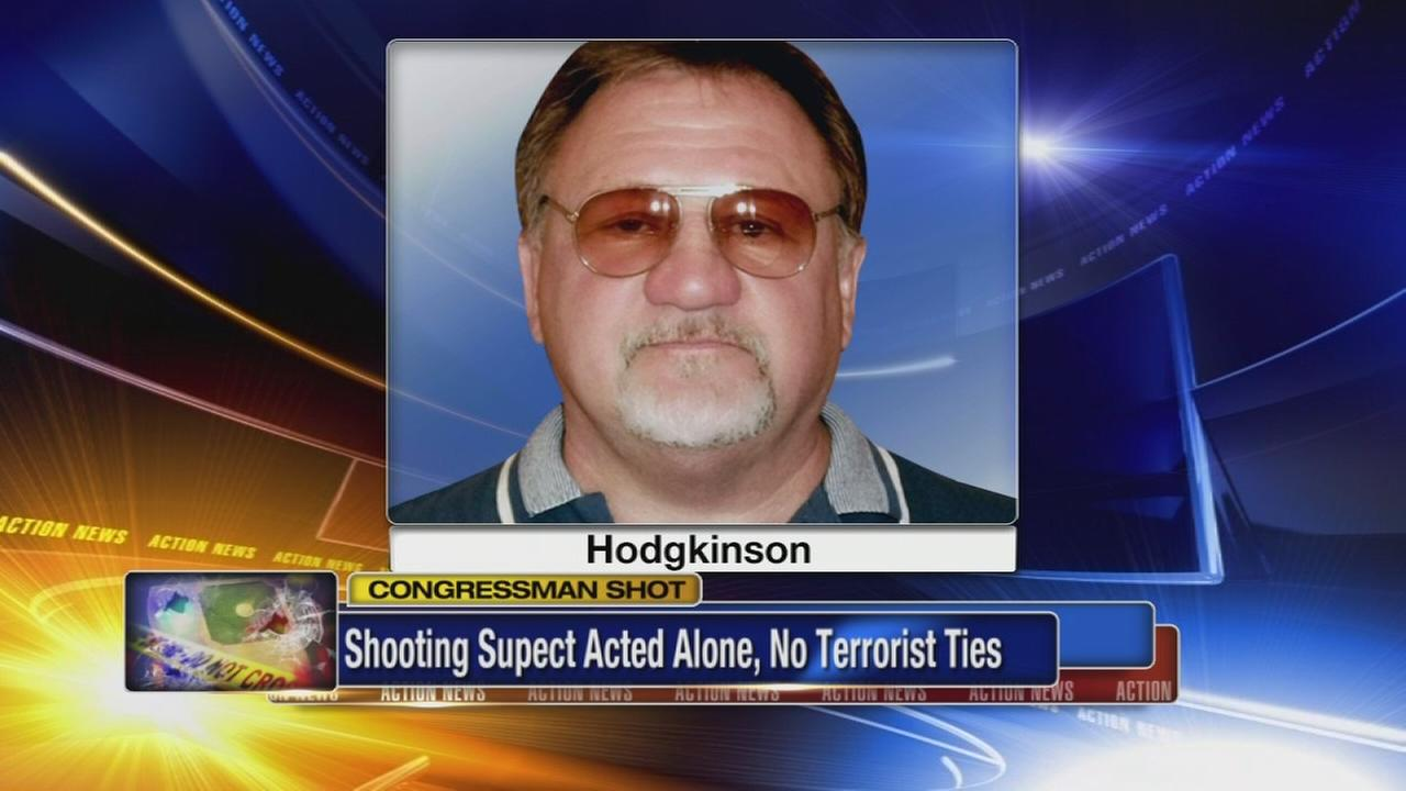 FBI: Gunman acted alone in shooting of congressman