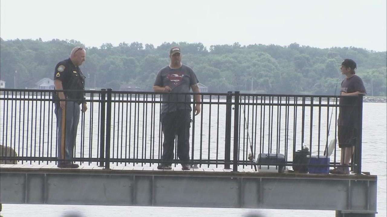 Fishing pier controversy in New Castle