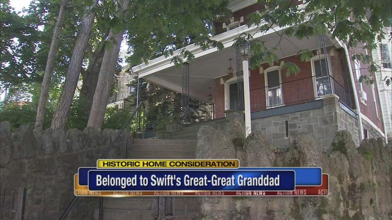 Home connected to Taylor Swift may get honor