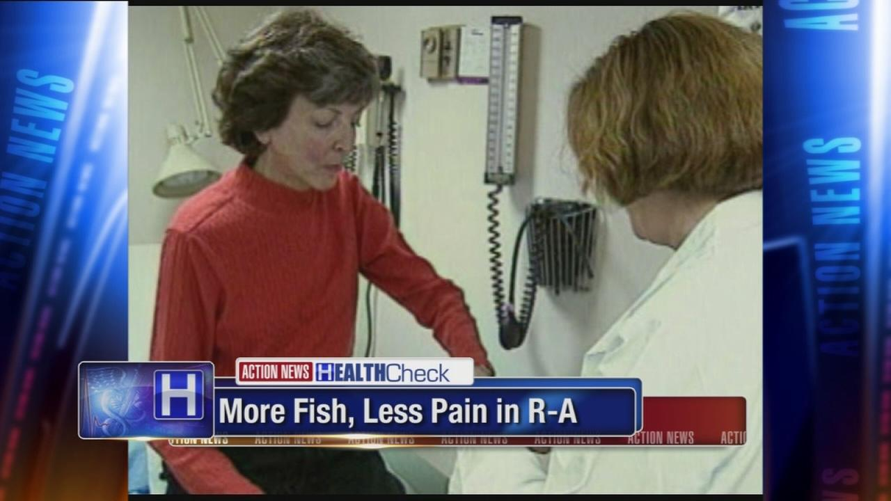 Researchers say eating more fish can ease rheumatoid arthritis pain