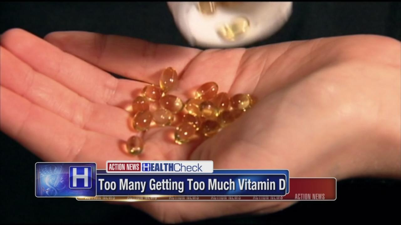 Many Americans getting too much Vitamin D