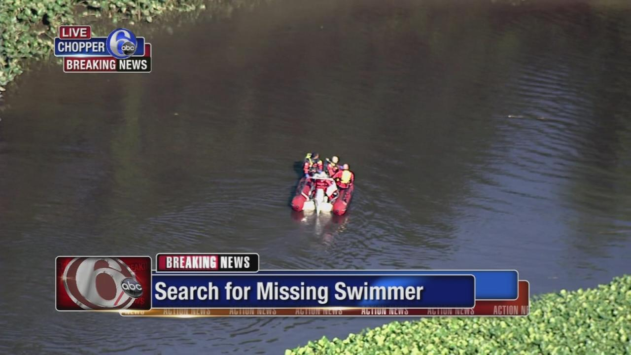 Search for missing swimmer in Hamilton Twp.