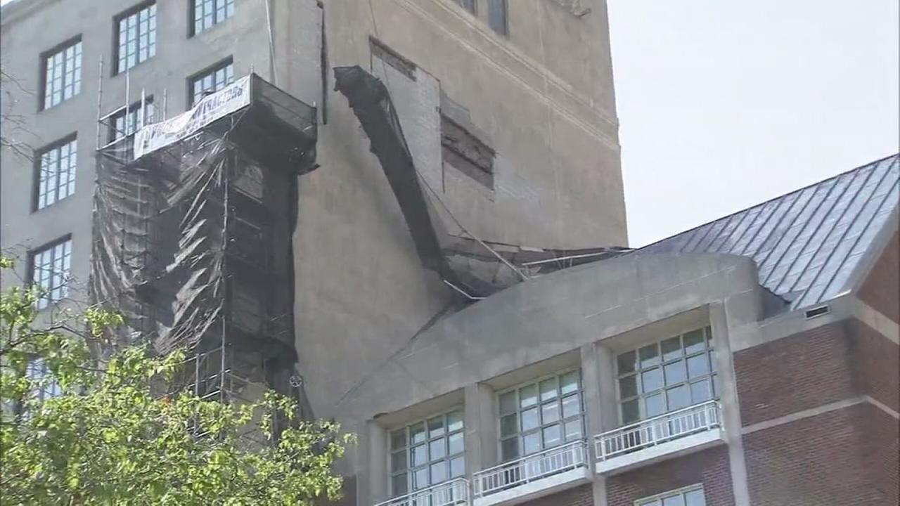 Workers hurt in scaffold collapse