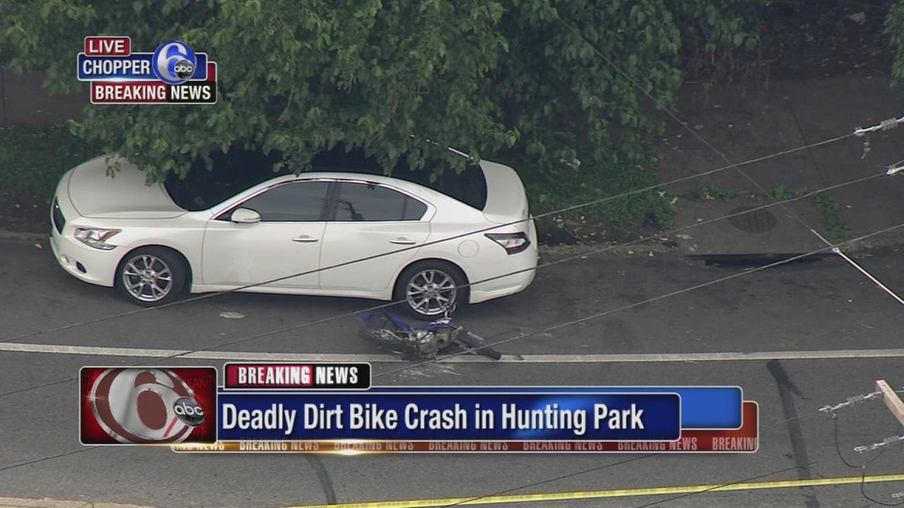 Man killed in dirt bike crash in Hunting Park