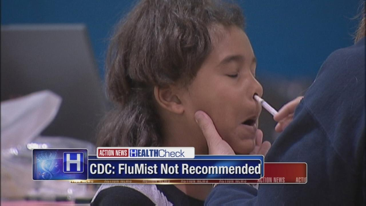 CDC: FluMist not recommended for best flu protection