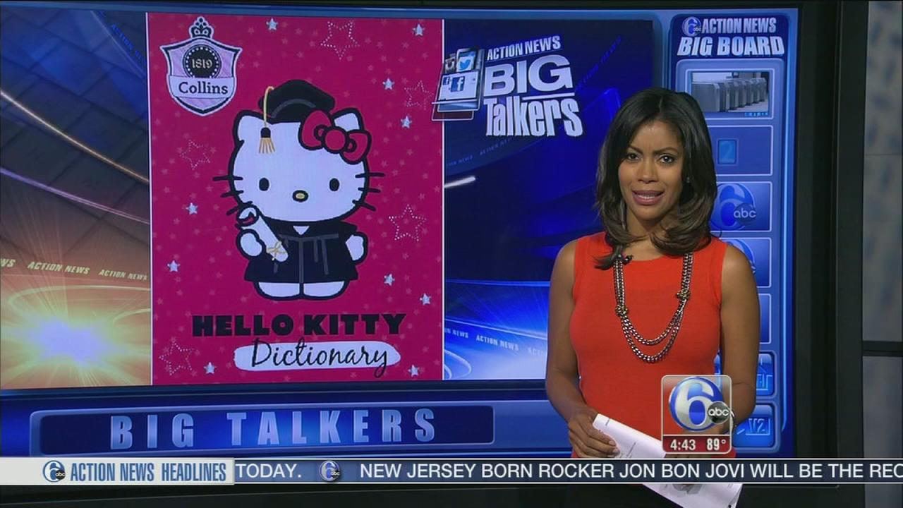 VIDEO: Hello Kitty dictionary has gruesome entry