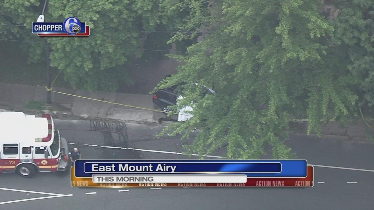 Woman dies in East Mt. Airy crash