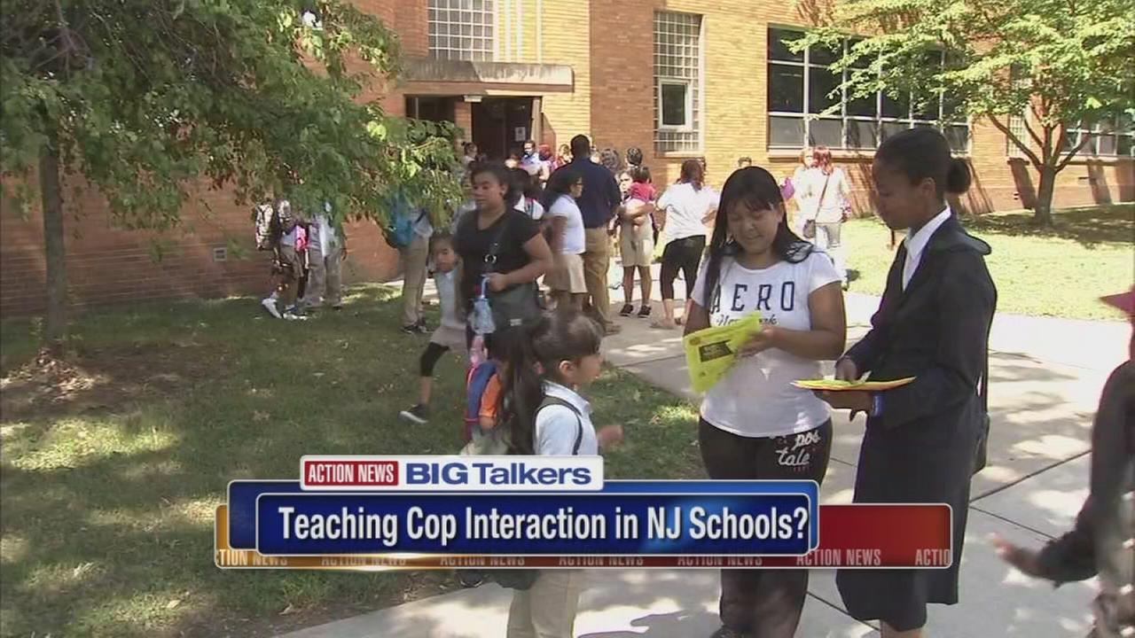 VIDEO: Teaching cop interaction in NJ schools?