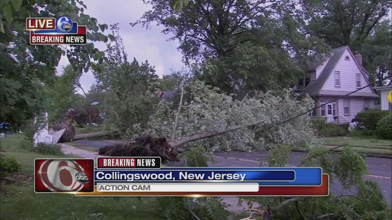 Storms bring damage to Collingswood