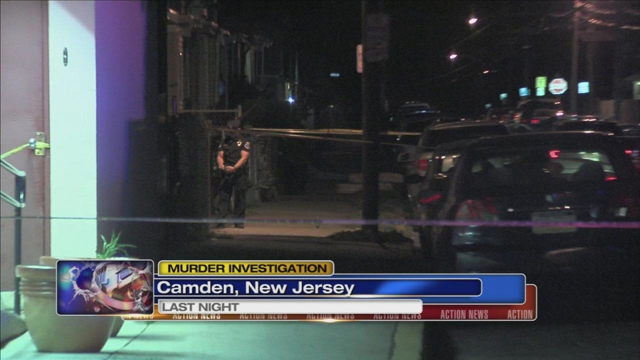 Murder investigation in Camden