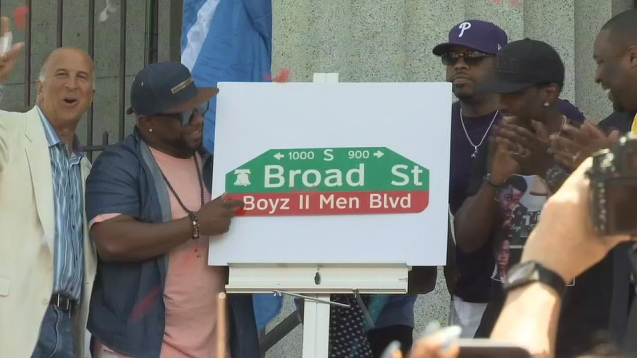 South Philadelphia street named after Boyz II Men