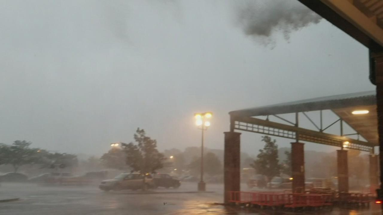 Funnel cloud forms into tornado in Monmouth County