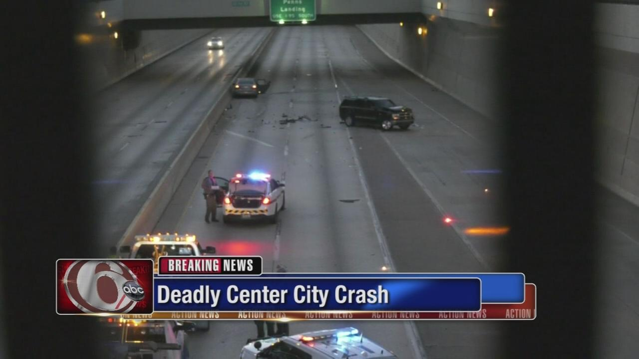 Deadly Center City crash