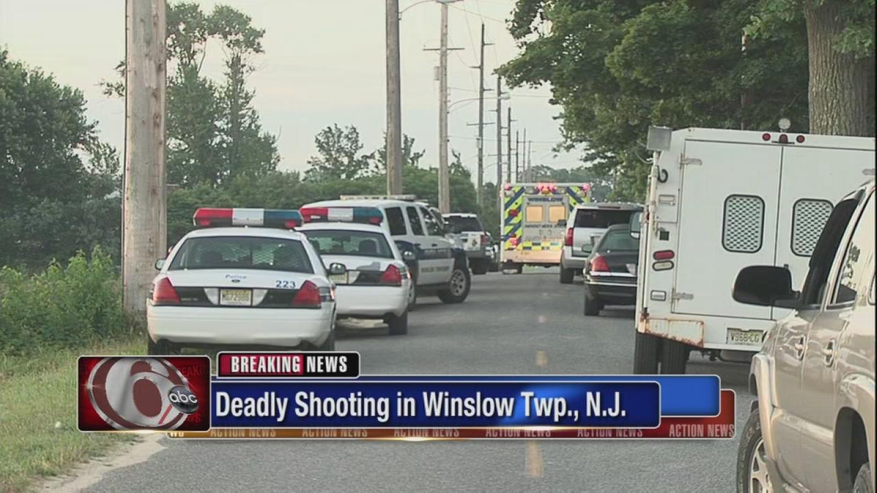 Deadly shooting in Winslow Township, N.J.