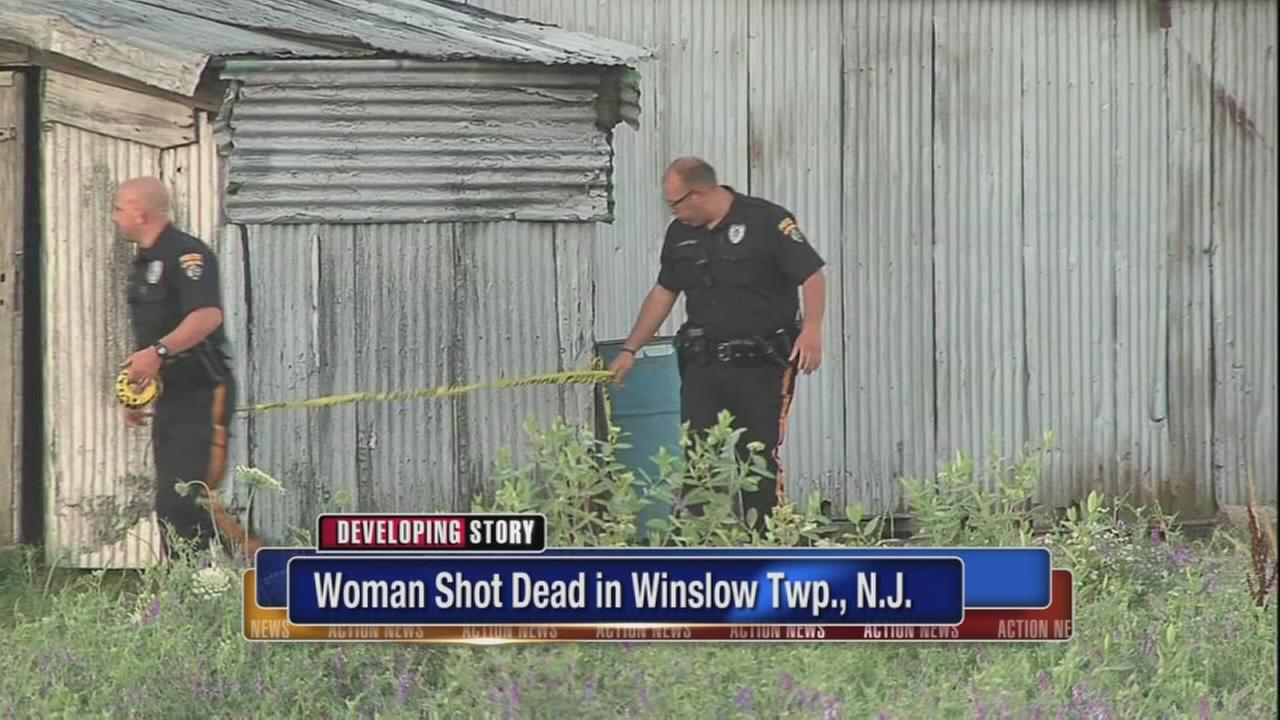 Woman shot to death in Winslow Twp.