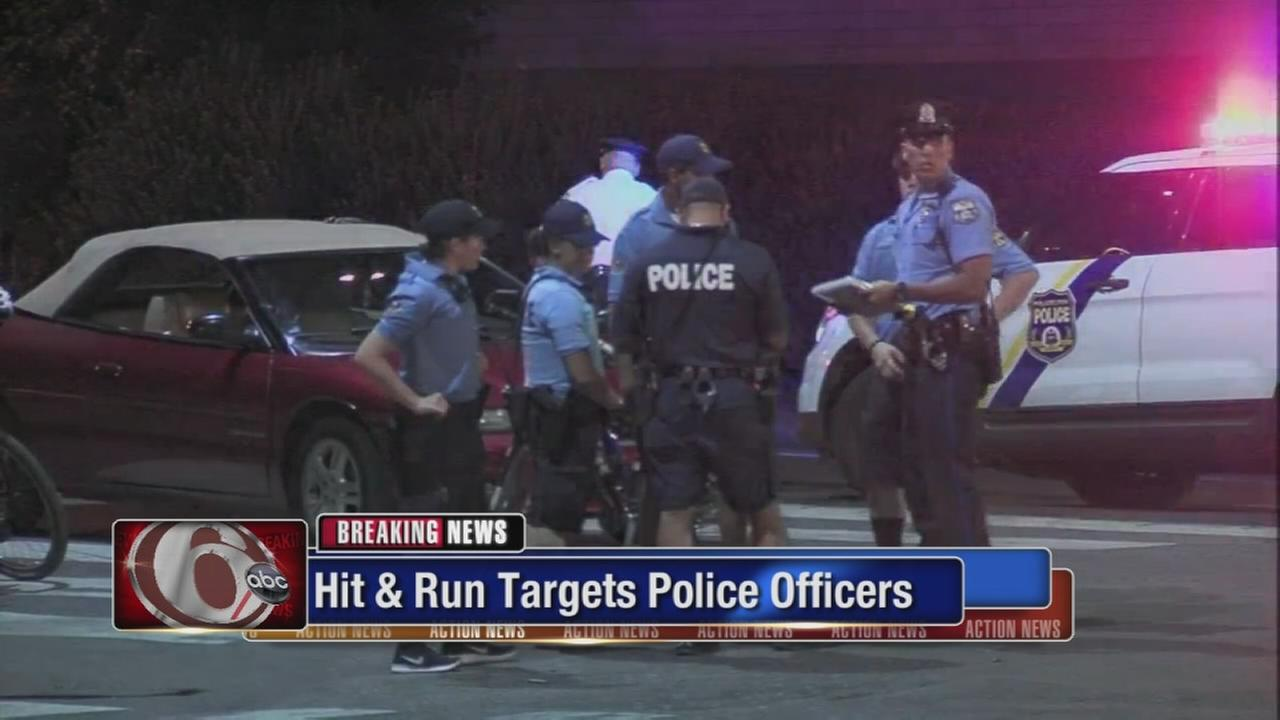 Officers targeted in Juniata Park