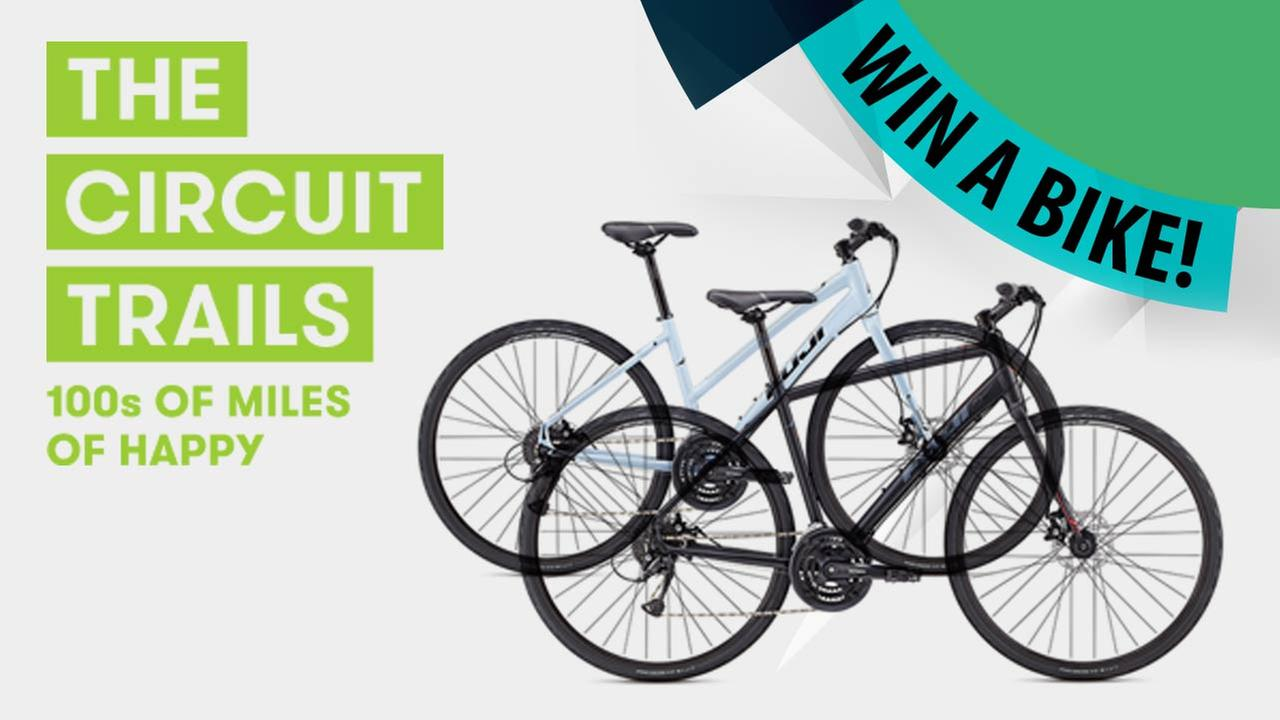 Circuit Trails: Instagram Sweepstakes - Win a Bike!