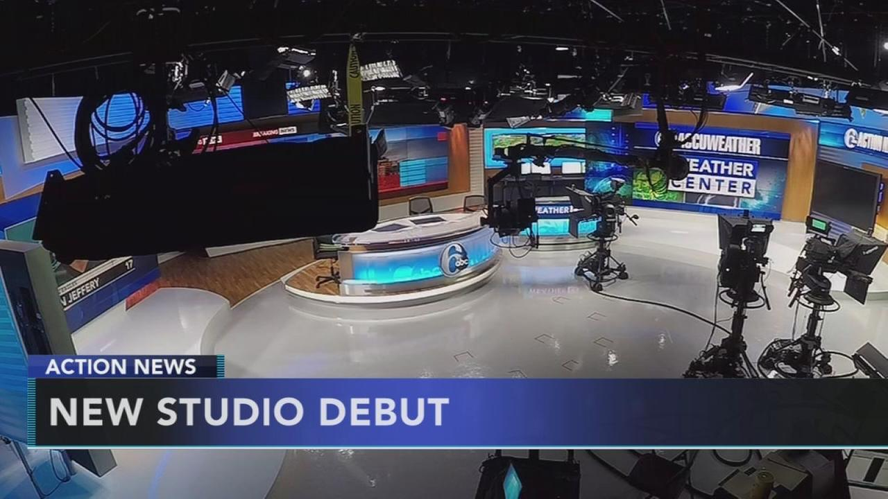TIMELAPSE: Building the new Action News set