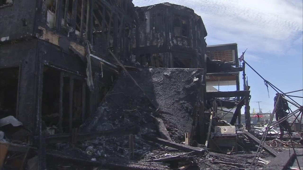 VIDEO: Investigation into fire that gutted 2 homes in Wildwood Crest