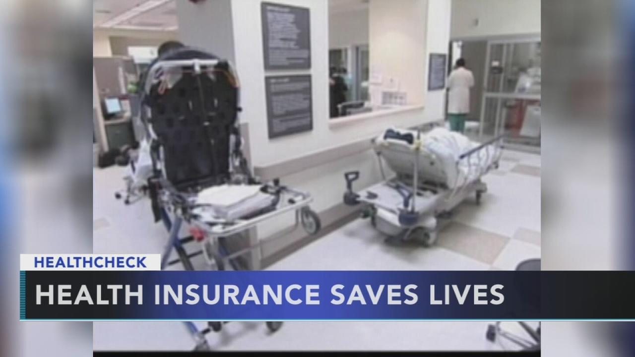 Study: Health insurance saves lives