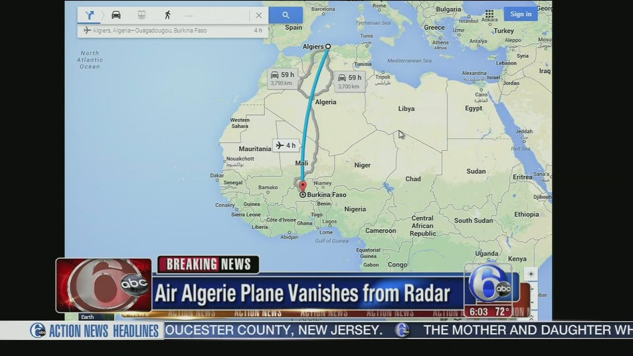 VIDEO: Passenger plane missing over Africa