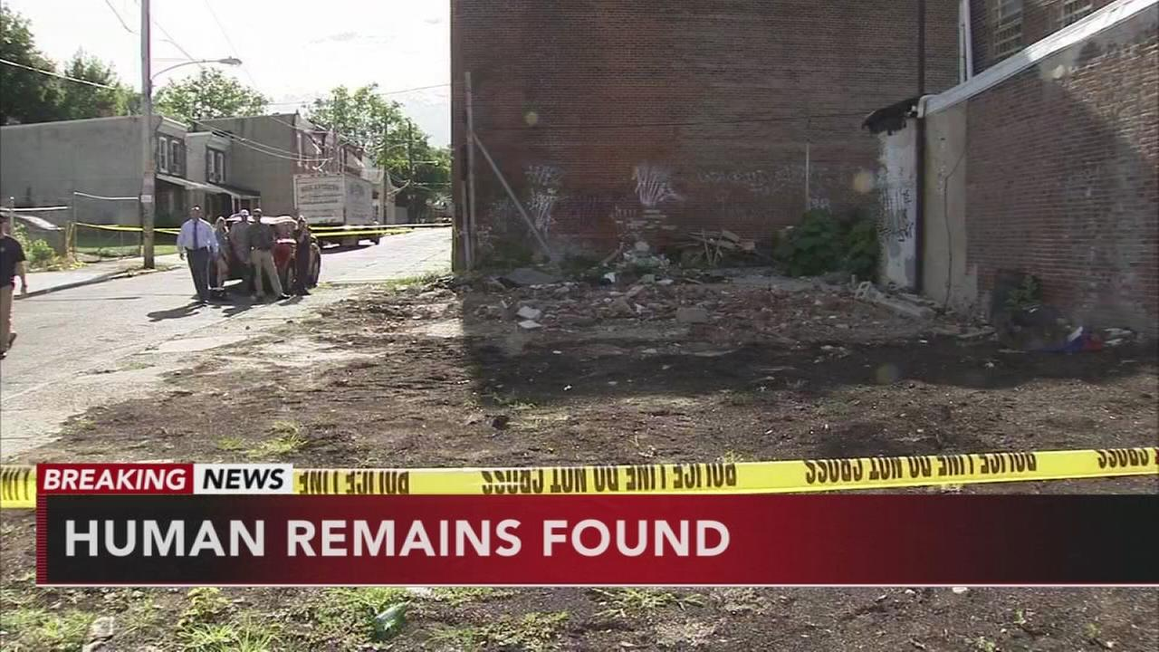 Human remains found in Tioga-Nicetown