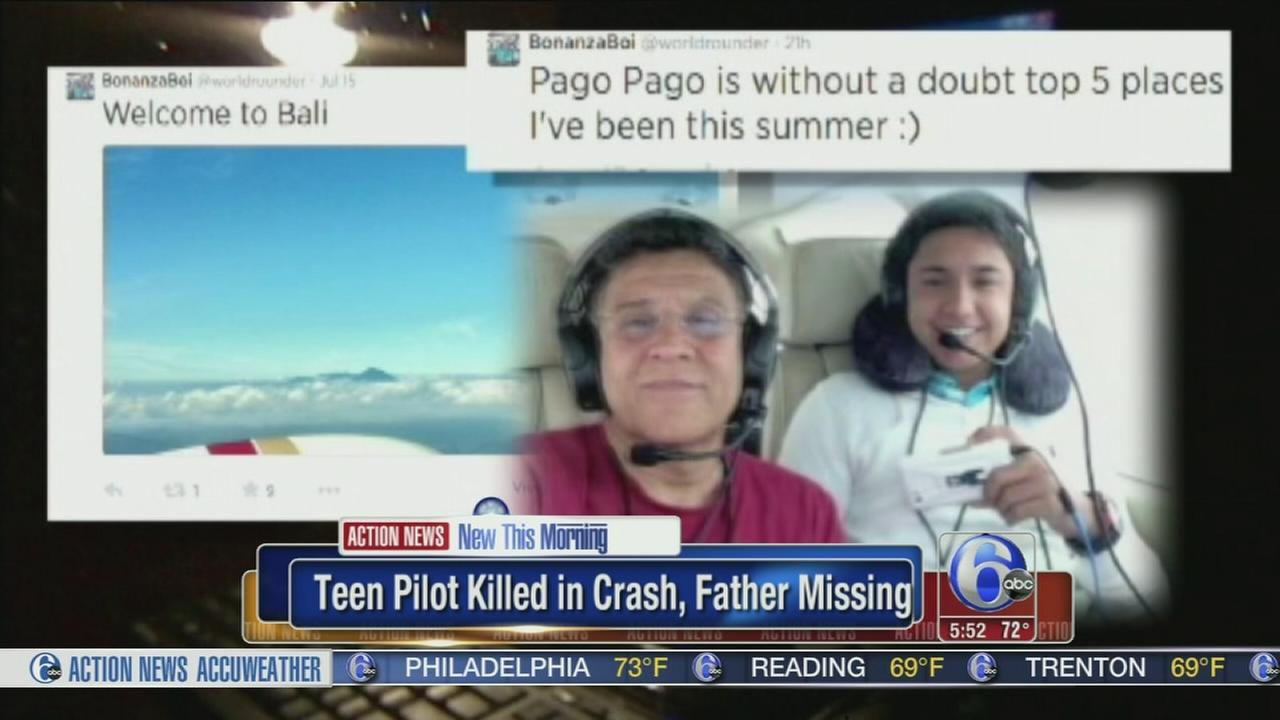 VIDEO: Family: Teen pilot who crashed in ocean knew risks