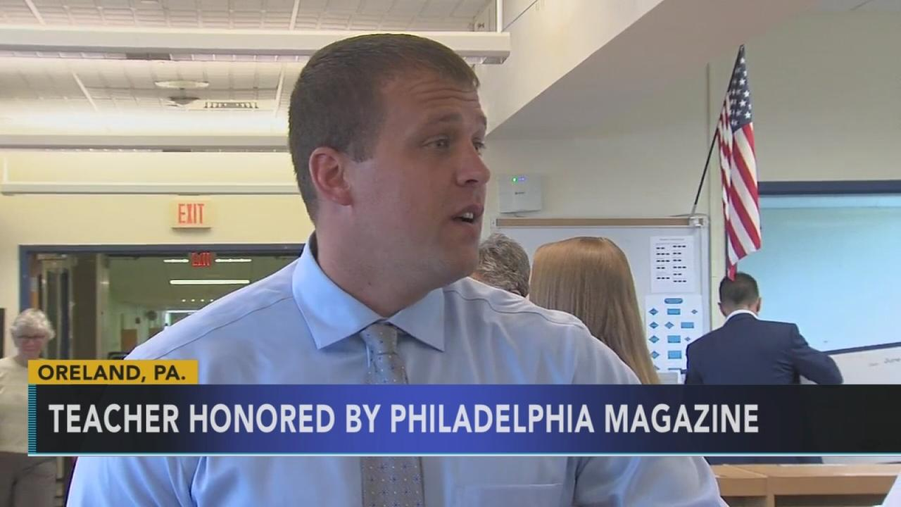 Montco teacher honored as Best Teacher of the Year