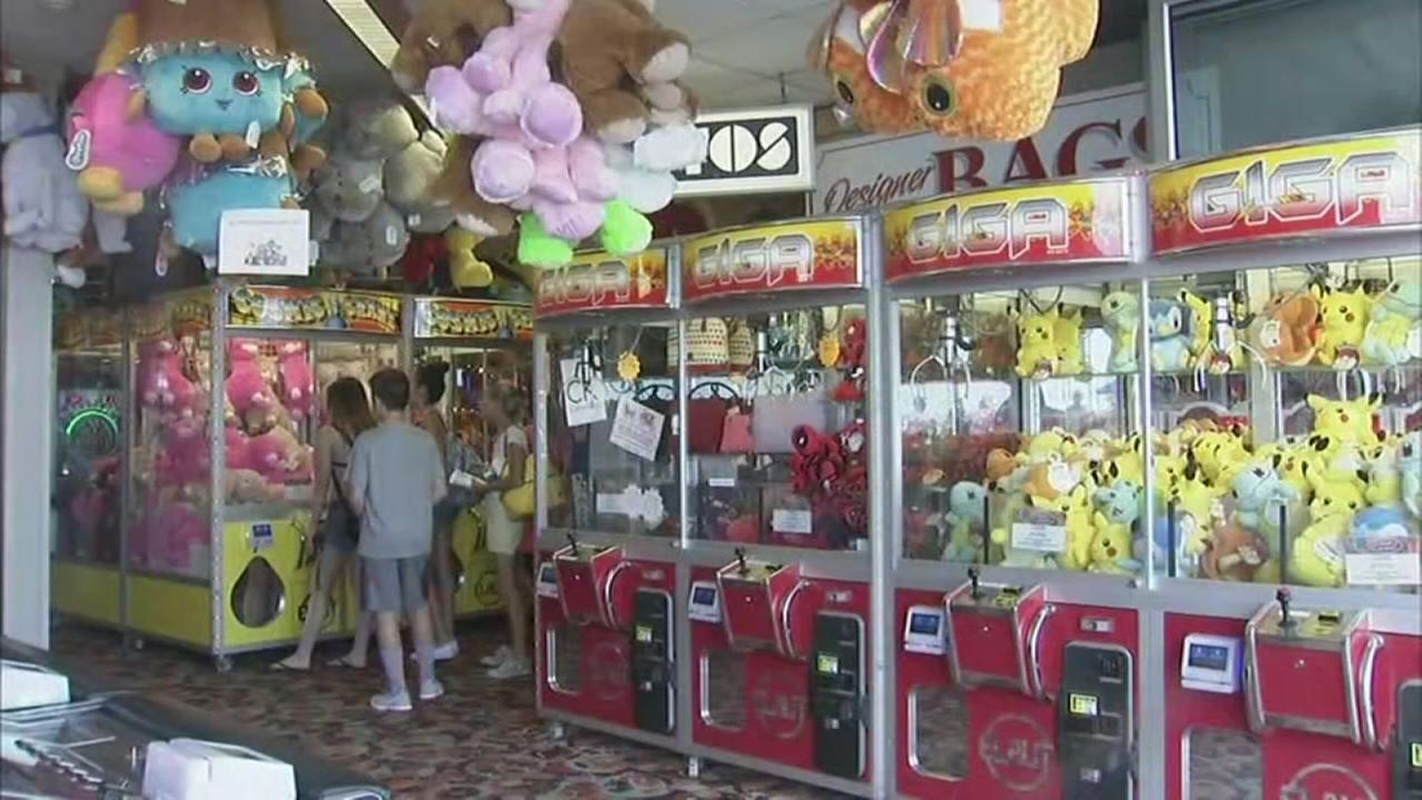 State officials inspect arcades along Jersey Shore