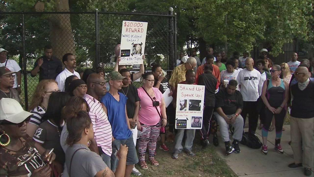 Vigil held for woman murdered near North Philly park