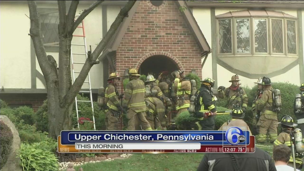 VIDEO: Fire at home in Upper Chicester
