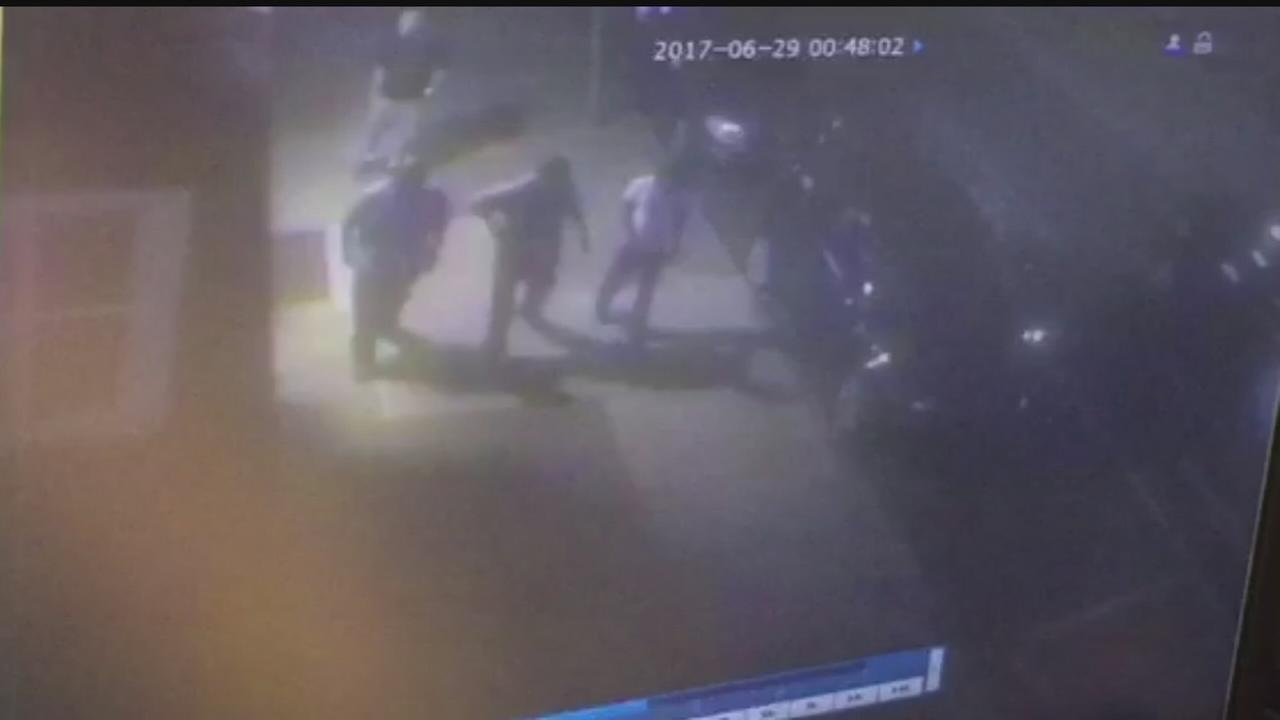Surveillance video released