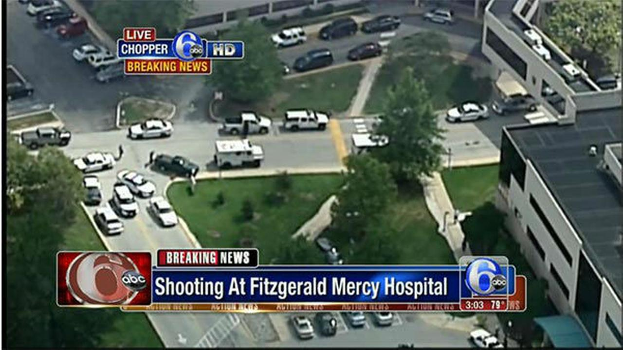PHOTOS: Shooting on campus of Mercy Fitzgerald
