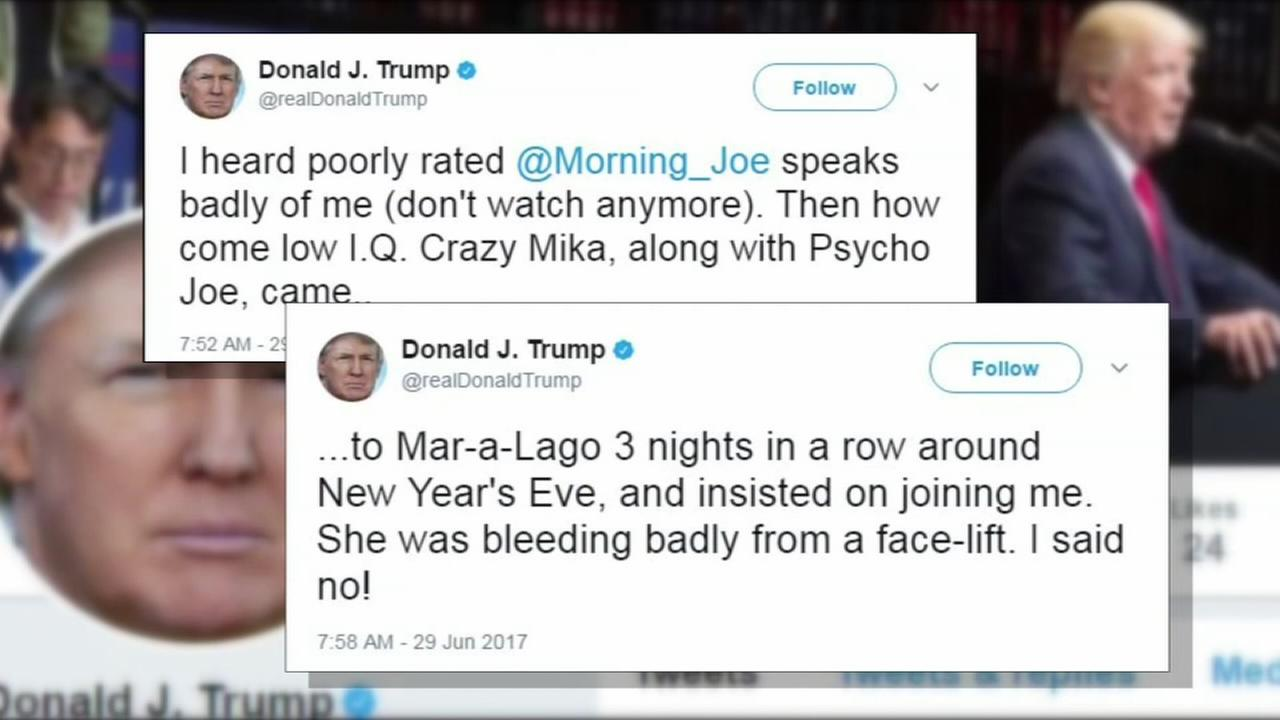 Trumps crude tweets: Would anyone else be fired?