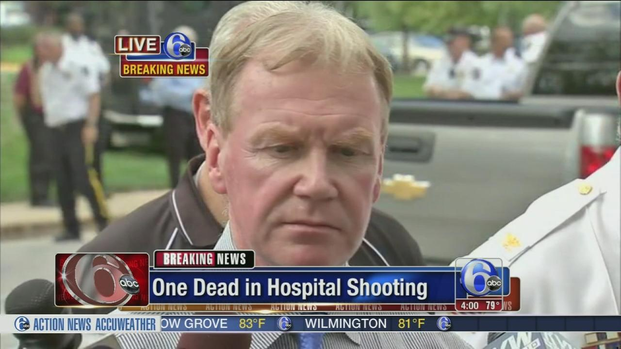 video d a whelan update on hospital shooting com