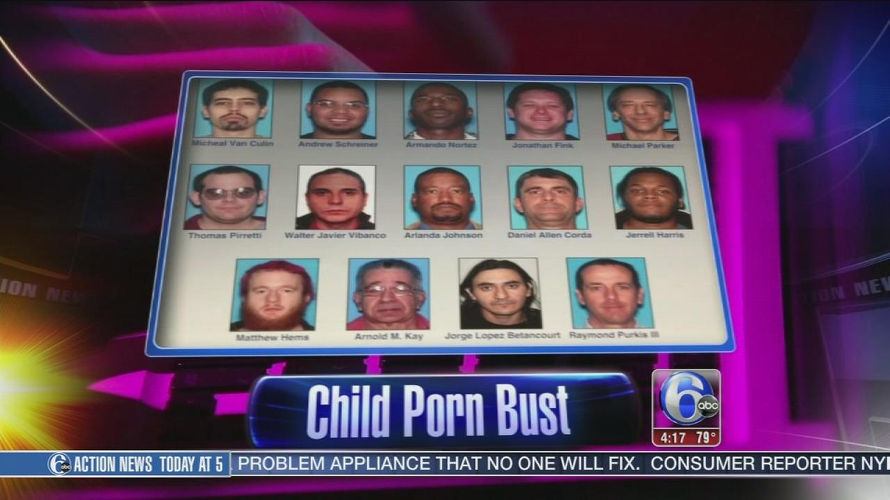 VIDEO: Child porn bust