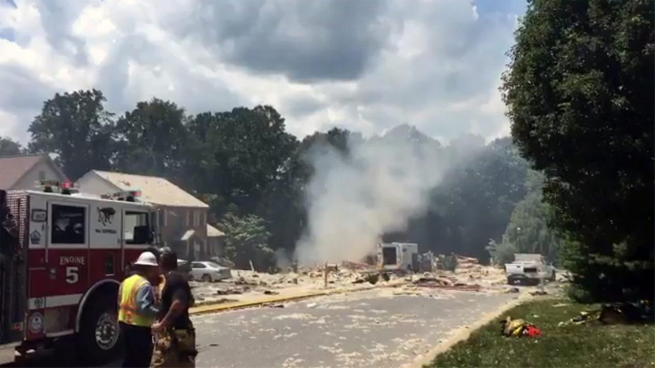 House explosion kills utility worker in Pennsylvania