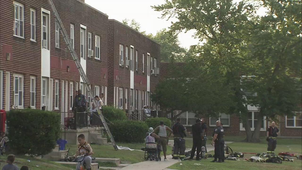 Fire damages Camden apartment
