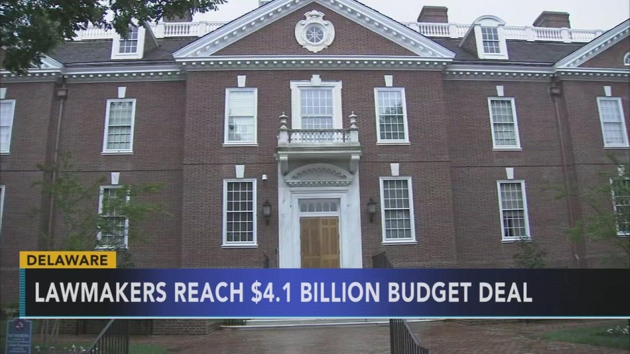 Del. lawmakers reach budget deal