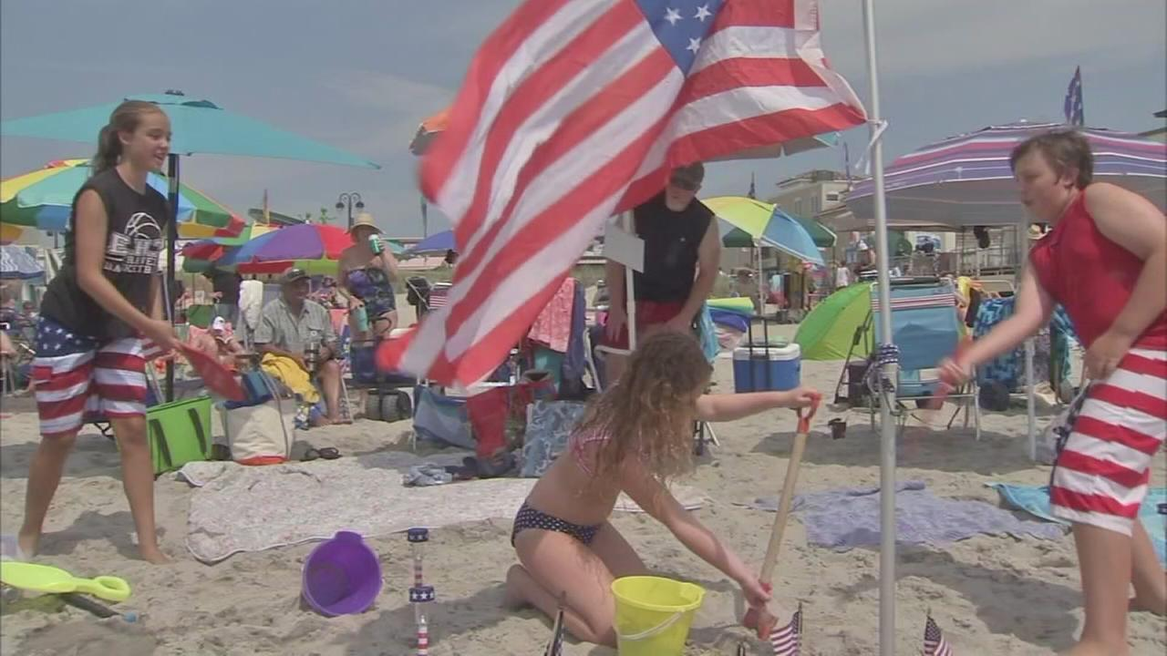 VIDEO: Celebrating the 4th of July at the Jersey shore