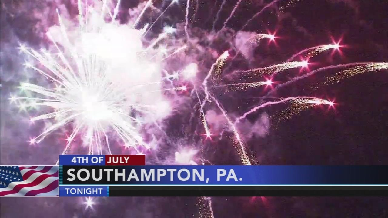 VIDEO: July 4th festivities in the suburbs